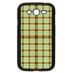 Geometric Tartan Pattern Square Samsung Galaxy Grand DUOS I9082 Case (Black)