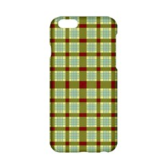 Geometric Tartan Pattern Square Apple iPhone 6/6S Hardshell Case