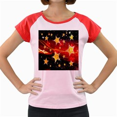 Holiday Space Women s Cap Sleeve T-Shirt