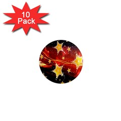 Holiday Space 1  Mini Magnet (10 pack)