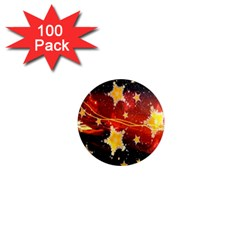 Holiday Space 1  Mini Magnets (100 pack)