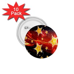 Holiday Space 1.75  Buttons (10 pack)