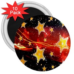 Holiday Space 3  Magnets (10 pack)