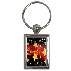 Holiday Space Key Chains (Rectangle)
