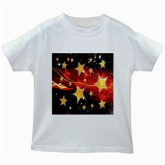 Holiday Space Kids White T-Shirts