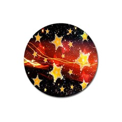 Holiday Space Magnet 3  (Round)