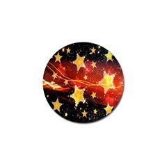 Holiday Space Golf Ball Marker
