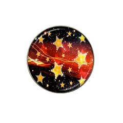 Holiday Space Hat Clip Ball Marker (10 pack)