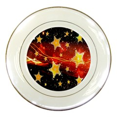 Holiday Space Porcelain Plates