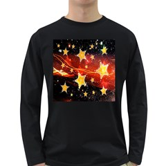 Holiday Space Long Sleeve Dark T-Shirts