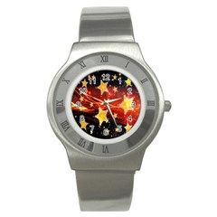Holiday Space Stainless Steel Watch