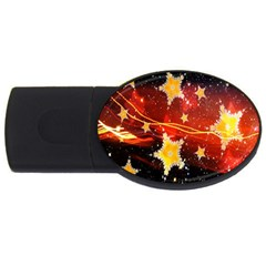 Holiday Space USB Flash Drive Oval (4 GB)