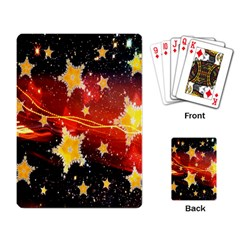 Holiday Space Playing Card