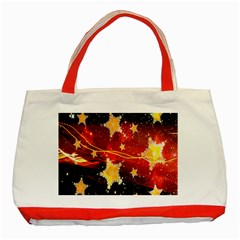 Holiday Space Classic Tote Bag (Red)