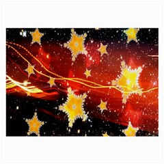 Holiday Space Large Glasses Cloth (2-Side)