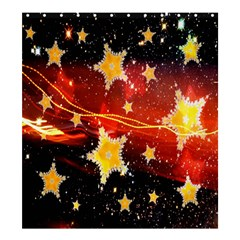 Holiday Space Shower Curtain 66  x 72  (Large)