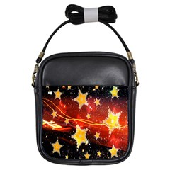 Holiday Space Girls Sling Bags