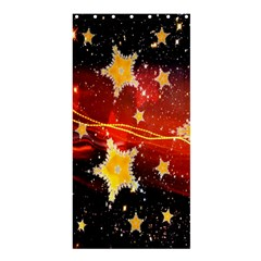 Holiday Space Shower Curtain 36  X 72  (stall)