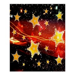 Holiday Space Shower Curtain 60  x 72  (Medium)