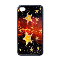 Holiday Space Apple iPhone 4 Case (Black)