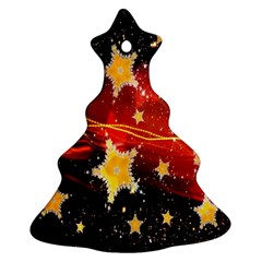 Holiday Space Christmas Tree Ornament (Two Sides)