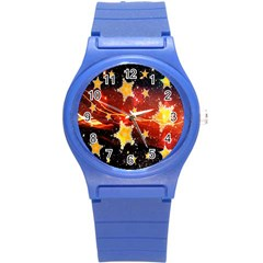 Holiday Space Round Plastic Sport Watch (s)