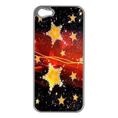 Holiday Space Apple Iphone 5 Case (silver)