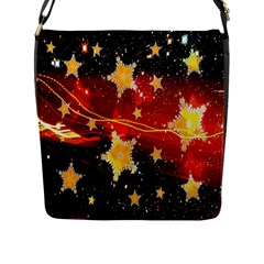 Holiday Space Flap Messenger Bag (L)