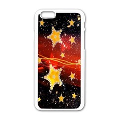 Holiday Space Apple iPhone 6/6S White Enamel Case