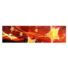 Holiday Space Satin Scarf (Oblong)
