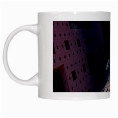 Industry Fractals Geometry Graphic White Mugs