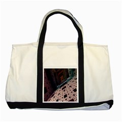 Industry Fractals Geometry Graphic Two Tone Tote Bag