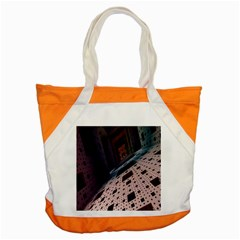 Industry Fractals Geometry Graphic Accent Tote Bag