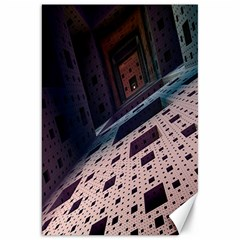 Industry Fractals Geometry Graphic Canvas 20  X 30