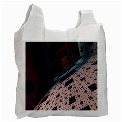 Industry Fractals Geometry Graphic Recycle Bag (One Side)