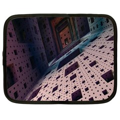 Industry Fractals Geometry Graphic Netbook Case (XL)
