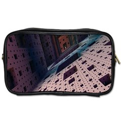 Industry Fractals Geometry Graphic Toiletries Bags