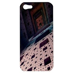 Industry Fractals Geometry Graphic Apple iPhone 5 Hardshell Case