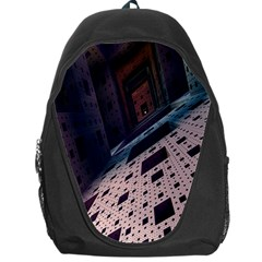 Industry Fractals Geometry Graphic Backpack Bag