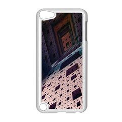 Industry Fractals Geometry Graphic Apple iPod Touch 5 Case (White)
