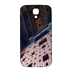 Industry Fractals Geometry Graphic Samsung Galaxy S4 I9500/I9505  Hardshell Back Case