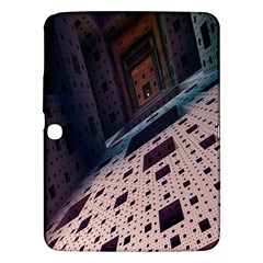 Industry Fractals Geometry Graphic Samsung Galaxy Tab 3 (10.1 ) P5200 Hardshell Case