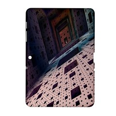Industry Fractals Geometry Graphic Samsung Galaxy Tab 2 (10 1 ) P5100 Hardshell Case