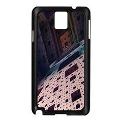 Industry Fractals Geometry Graphic Samsung Galaxy Note 3 N9005 Case (Black)