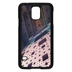 Industry Fractals Geometry Graphic Samsung Galaxy S5 Case (Black)