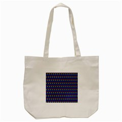 Honeycomb Fractal Art Tote Bag (cream)