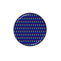 Honeycomb Fractal Art Hat Clip Ball Marker (10 pack)