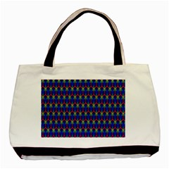 Honeycomb Fractal Art Basic Tote Bag