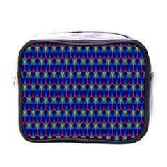 Honeycomb Fractal Art Mini Toiletries Bags