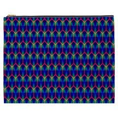 Honeycomb Fractal Art Cosmetic Bag (XXXL)